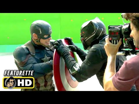 CAPTAIN AMERICA: CIVIL WAR (2016) Behind the Scenes B-Roll [HD] Marvel