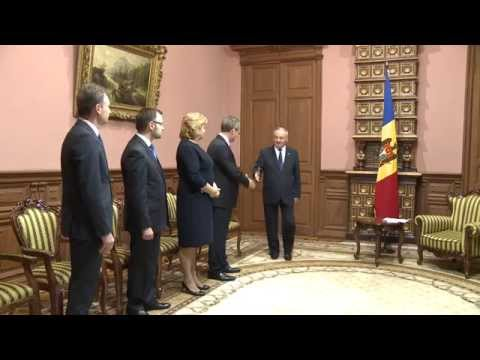Moldovan president receives newly nominated ambassadors