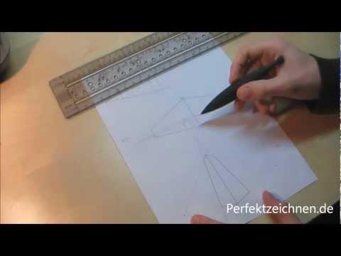 WICHTIG!! Perspektive zeichnen lernen und verstehen [PerfektZeichnen.de]