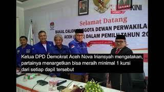 [VIDEO] Demokrat Aceh Target 1 Kursi per Dapil DPRA