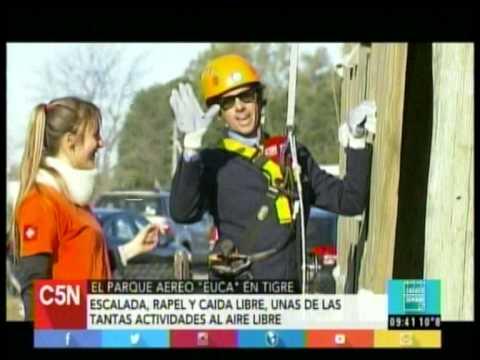 """C5N – SOCIEDAD: EL PARQUE AEREO """"EUCA"""" EN TIGRE"""