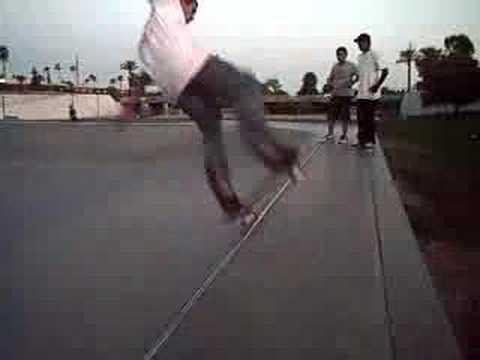the wedge Skatepark