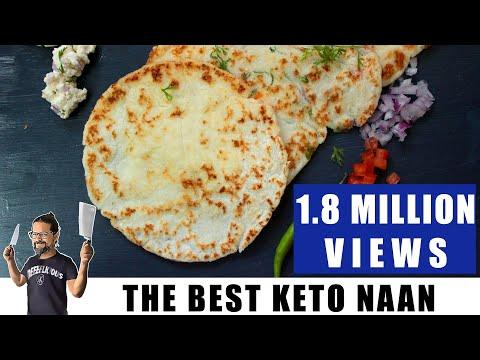 Keto Naan | Keto Paratha | Keto Uttapam | Keto Coconut Flatbread | Headbanger's Kitchen