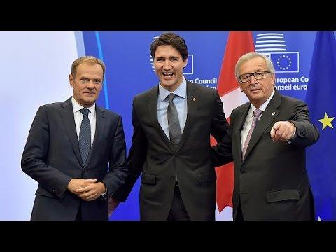 Βρυξέλλες: Υπεγράφη η εμπορική συμφωνία CETA μεταξύ ΕΕ- Καναδά – world