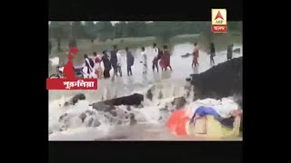 Heavy rainfall in Purulia causes water logging in large area