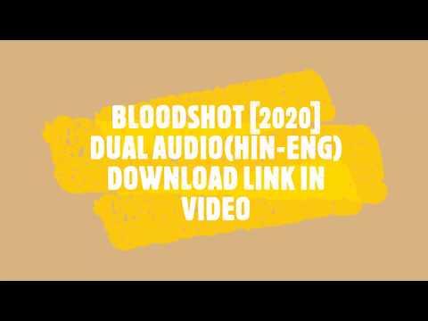 Bloodshot (2020) Trailer and Link HIN-ENG Dual Audio Movie  Download .#vindiesel #2020 #movies