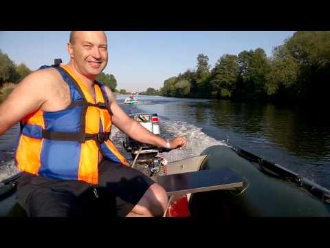 видео покатушек на лодках пвх