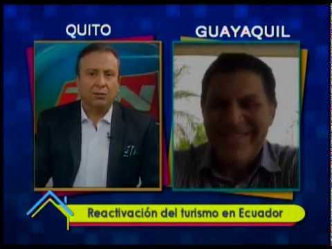 Reactivación del turismo en Ecuador