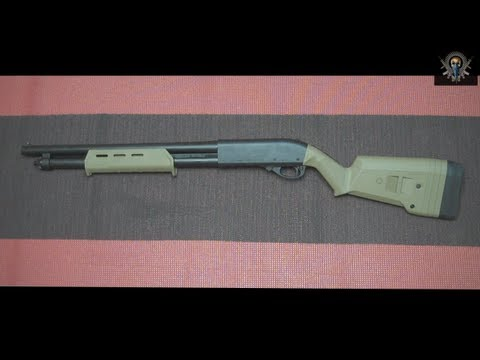 mustyyeti - Well you guys asked for it and here it is. This is a short video showing how to install the Magpul SGA stock set on the Remington 870. All and all it went pr...