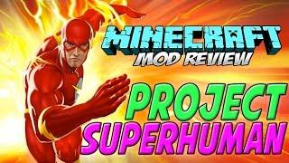 PROJECT SUPERHUMAN MOD MINECRAFT 1.7.10   El mejor mod de Superheroes   REVIEW ESPAÑOL