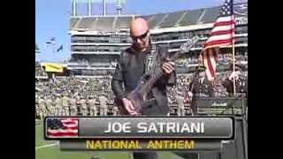 Oakland (TN) United States  City new picture : Joe Satriani Oakland Raiders vs. Tennessee Titans NATIONAL ANTHEM