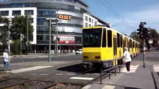Trams of Berlin, Germany (huge video)