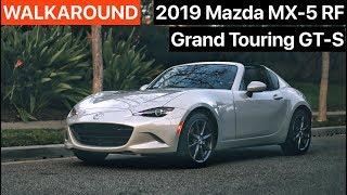 2019 Mazda MX-5 RF WALKAROUND by MilesPerHr