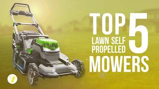 2. Best Lawn Mower - Best Self-Propelled Lawn Mowers Review ✅