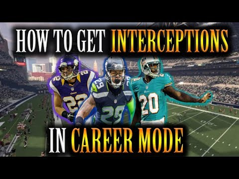 Madden NFL 2018 - How To Get Interceptions As Safety In Career Mode
