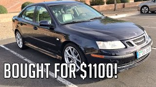 This video features a 2003 Saab 9-3 with a 2.0L Turbocharged engine and aftermarket tires and wheels. The car was bought for $1100 which was a steal at the time as the car runs great and has held up well. He did pay $1200 for the wheel and tire setup though. The interior is in great condition still and the car still pulls with that turbo engine. You can really feel the torque after it shifts.Check out this YouTube channel:   https://www.youtube.com/channel/UCKSO1DwDHqJUzDJ8ST8pJJg?&ab_channel=AutoAutopsy