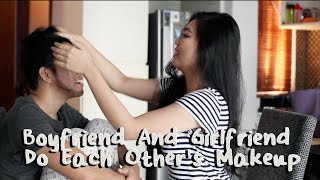 Video Boyfriend And Girlfriend Do Each Other's Makeup Challenge - INDONESIA MP3, 3GP, MP4, WEBM, AVI, FLV Februari 2018