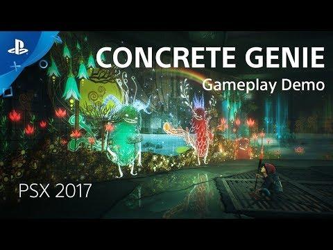 Concrete Genie - PSX 2017: Gameplay Demo de Concrete Genie