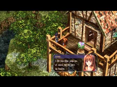 Legend of Heros Trails in the Sky OST Secret Green Passage extended