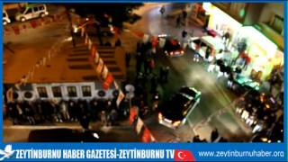 ZeytinburnuÜlkü Ocakları ve Seçim İletişim Merkezine Molotoflu Saldırı