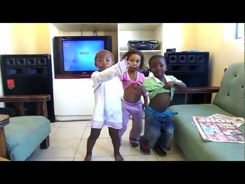 My Nieces and Nephew doin it the South African Way!!House Music all the way!!