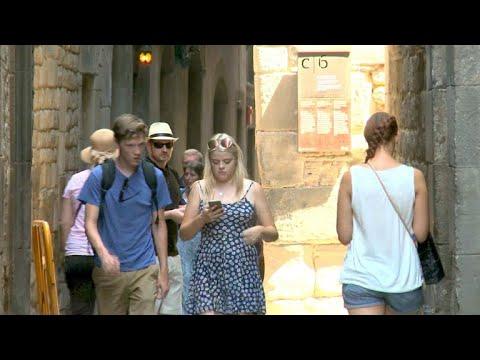 Touristen verdrängen Einwohner in Barcelona