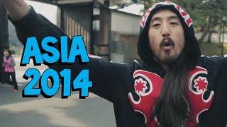 Asia 2014 Tour (Tokyo ✈ Osaka ✈ Kuala Lumpur) - On the Road w/ Steve Aoki #107