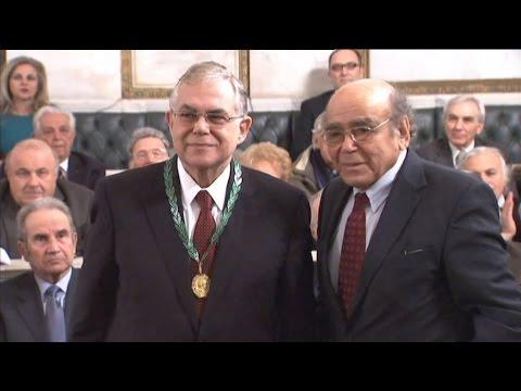 Ακαδημία Αθηνών: Ο Λουκάς Παπαδήμος πρόεδρος για το 2017