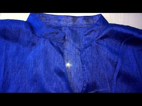 Collar neck churidar cutting and stitching easy method