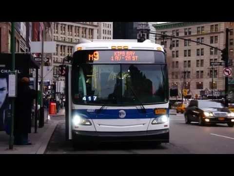 MTA New York City Bus & MTA Bus Company : City Hall/Broadway & Barclay Street