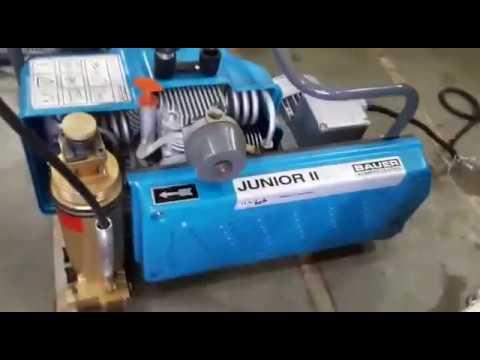 Breathing Air Compressor ( Bauer Junior ii )