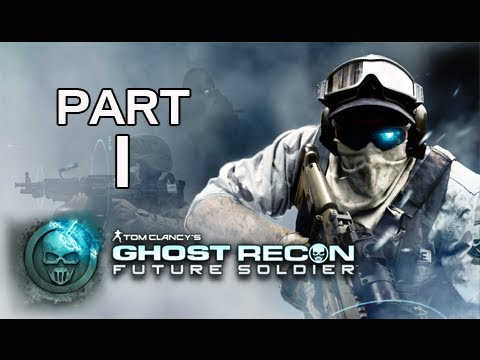 Ghost Recon Future Soldier Walkthrough – Part 1 [Mission 1] Nimble Guardian Let's Play PS3 XBOX PC