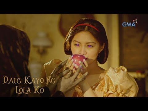 Daig Kayo Ng Lola Ko: Snow White Bites The Poison Apple