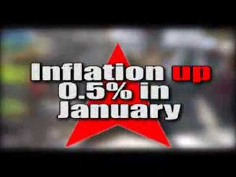 Inflation up by 0.5% in January - The Owen James Report - February 17, 2014