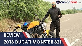 6. 2018 Ducati Monster 821 Review | NDTV carandbike