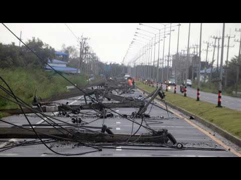 Thailand: Tropensturm