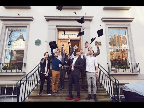Graduation highlights in Abbey Road Studios
