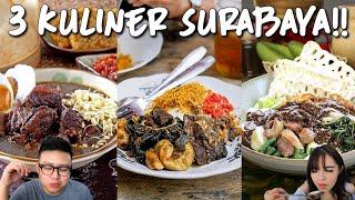 Video 3 Kuliner Surabaya Yang Harus Dicoba !! Semua Enak Banget !! MP3, 3GP, MP4, WEBM, AVI, FLV Januari 2019