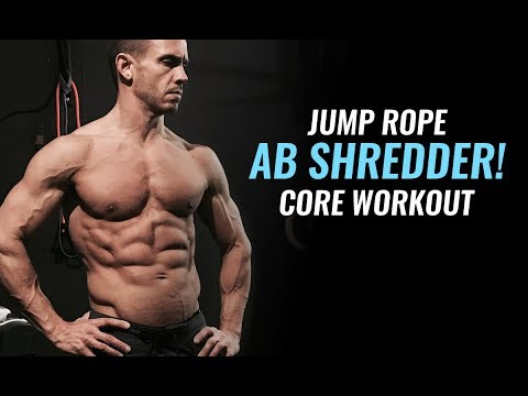 Fat burner - Strengthen Your Core and Build 6 Pack Abs - Jump Rope Interval Workout