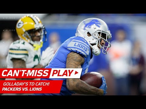 Video: Happy Golladay! Stafford Airs it Out to Kenny Golladay for the TD! | Can't-Miss Play | NFL Wk 17