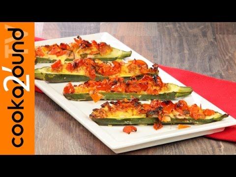 zucchine ripiene - ricetta