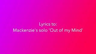 Download Lagu Dance Moms Mackenzie's solo 'Out Of My Mind' Lyrics Mp3
