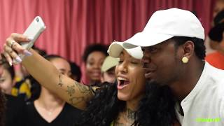 """Kranium popped up at the Ripley Grier studios to surprise 100+ lucky dancers. The dancers got the opportunity to show Kranium the routine they prepared for his new single """"Can't Believe"""" , take photos and more! Want Kranium to popup at your dance studio?Post #CantBelieve below and let us know what city you're in!Kranium - """"Can't Believe"""" Ft. Ty Dolla $ign & WizKid Available Now - https://Atlantic.lnk.to/CantBelieveConnect with Kranium:Website: https://officialkranium.comFacebook: https://facebook.com/OfficialKranium Twitter: https://twitter.com/therealkraniumInstagram: https://instagram.com/kraniumSoundCloud: https://soundcloud.com/kranium1"""