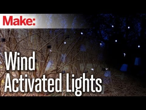 makemagazine - In this episode of DIY Hacks and How To's, Jason Poel Smith hacks a solar-powered LED walkway light with a motion sensor to create a cool light fixture that ...