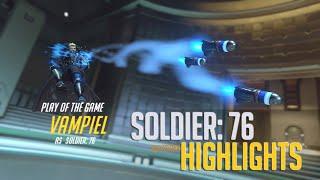 Overwatch: Mãn nhãn với những pha highlight cực hay của Soldier 76