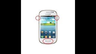 Samsung Galaxy Fame GT-S6810M Como Formatear/Hard Reset/Restaurar Código De Pantalla