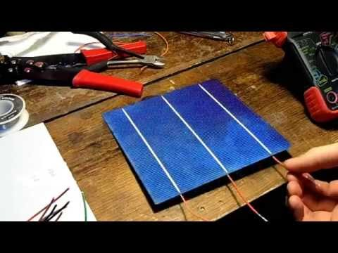 DIY 15$ 40w Solar Panel