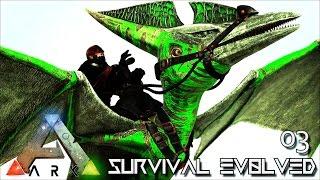 ARK: SURVIVAL EVOLVED - GAME CHANGER POISON PTERA !!! E03 (MODDED ARK ETERNAL ISO CRYSTAL ISLES)