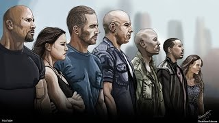 Nonton Fast & Furious 7 - Digital Painting - p.s R.I.P Paul Walker - Tribute Speed Drawing - Photoshop Film Subtitle Indonesia Streaming Movie Download
