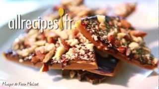 Caramel croquant au chocolat